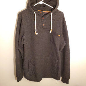 Billabong Hooded Sweatshirt Warm Fleece Lining